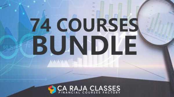 74 financial Courses bundle
