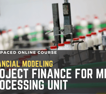 Financial Modeling: Project Finance for Milk Processing Unit